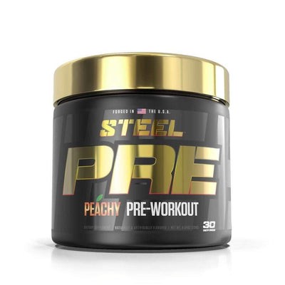 Steel PRE Pre-Workout 30 Serving Pre-Workouts STEEL Peachy  (4163354361899)