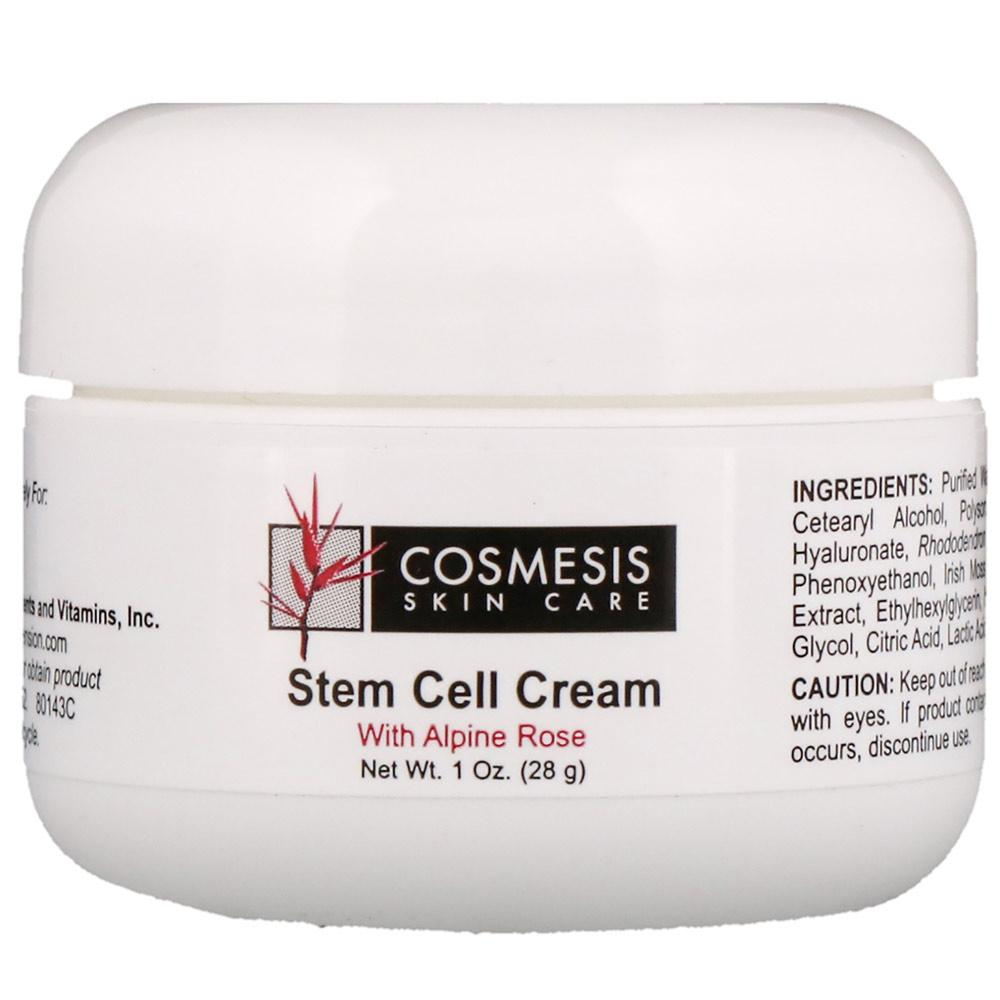 Life Extension Stem Cell Cream w Alpine Rose 1oz Personal Care& - Hygeine Life Extension  (1830217744427)