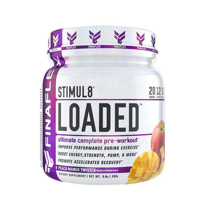 Finaflex Stimul8 Loaded 20 Servings Pre-Workouts Finaflex Peach Mango Twister  (1834776166443)