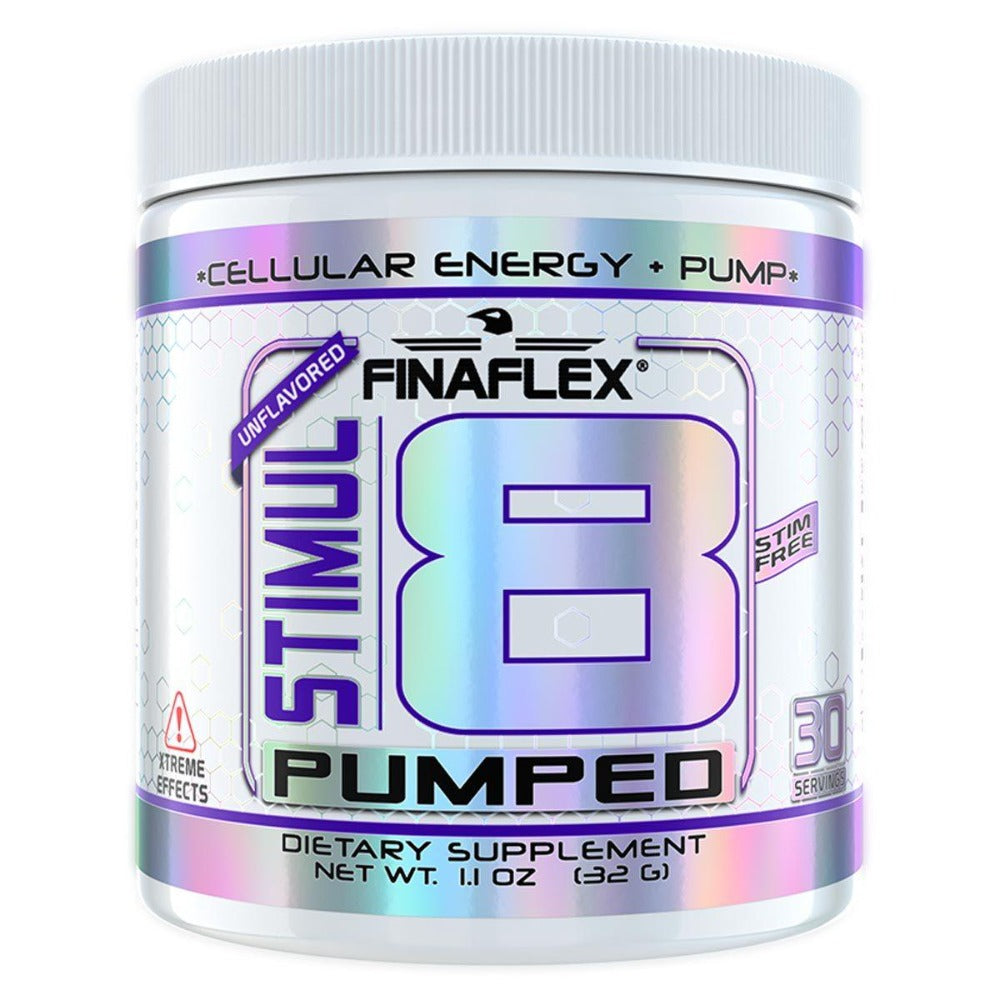 Finaflex Stimul8 Pumped Unflavored 30 Servings Pre-workout Finaflex (redefine Nutrition)  (1059280912427)