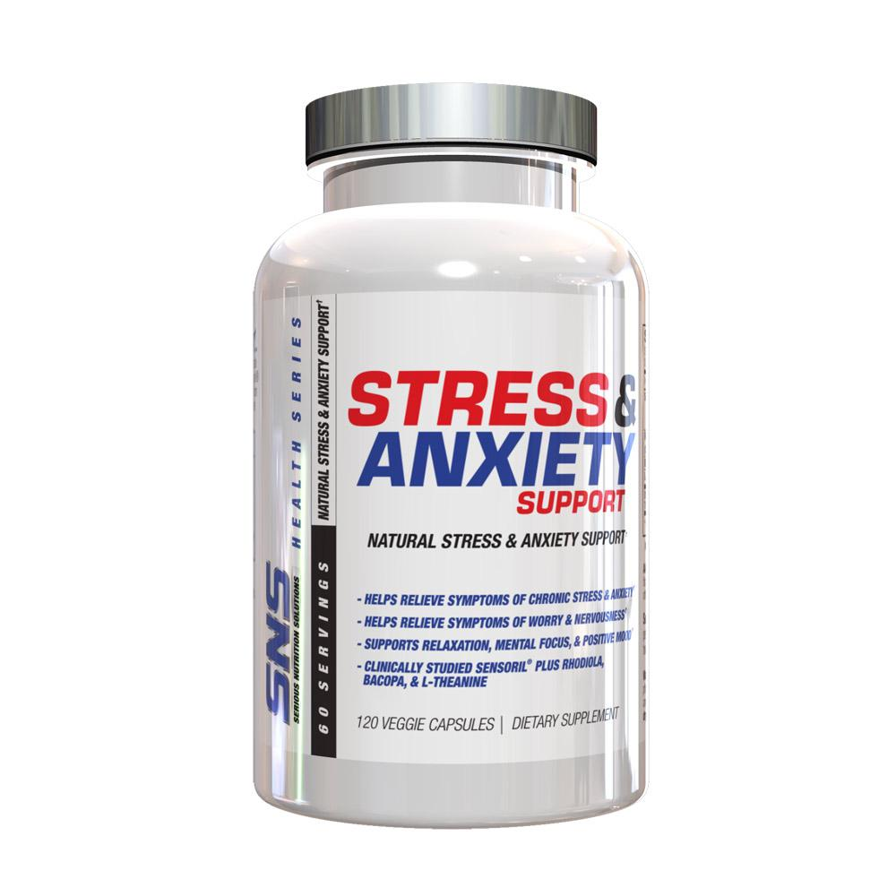 SNS Stress and Anxiety Support 120 VC Specialty Health Products Serious Nutrition Solutions  (1833102540843)