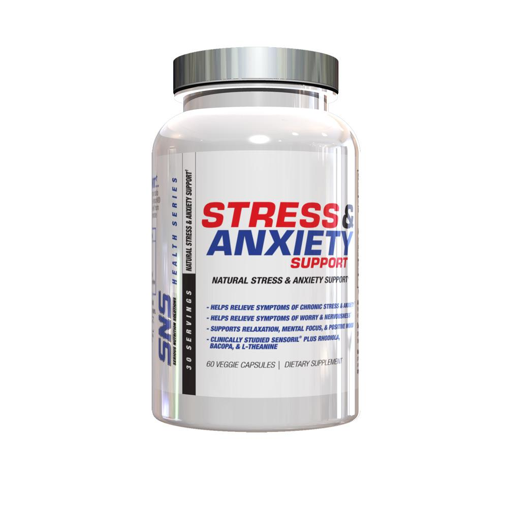 SNS Stress and Anxiety 60 VC Specialty Health Products Serious Nutrition Solutions  (1833103097899)