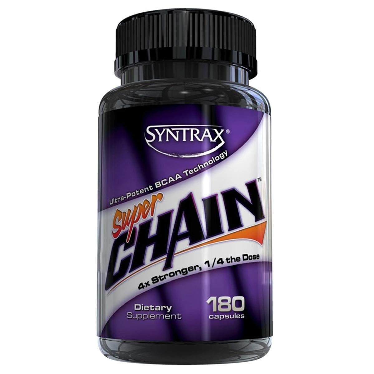 Syntrax Super Chain 180 Caps Amino Acids Syntrax  (1058651570219)