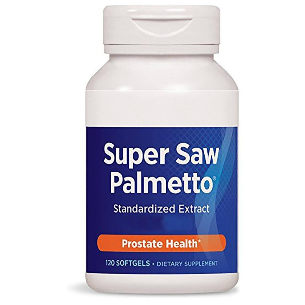 Enzymatic Therapy Super Saw Palmetto 120 Soft Gels Herbs Enzymatic Therapy  (1057959051307)