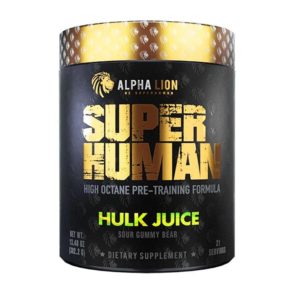 Alpha Lion SuperHuman 21 Servings Pre-Workouts Alpha Lion Hulk Juice  (4333822410817)