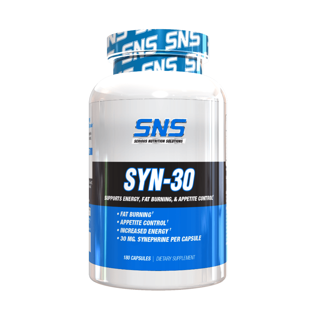 Serious Nutrition Solutions SYN-30 180 Caps | Fat Burner Diet/Energy Serious Nutrition Solutions  (1059042852907)