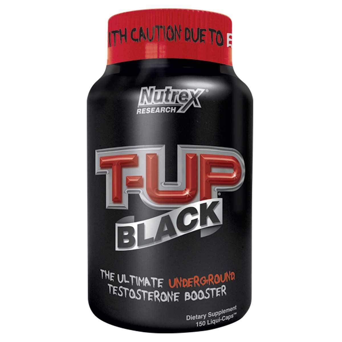 Nutrex Research T-Up Black 150 Caps Testosterone Boosters Nutrex Research  (1058313404459)