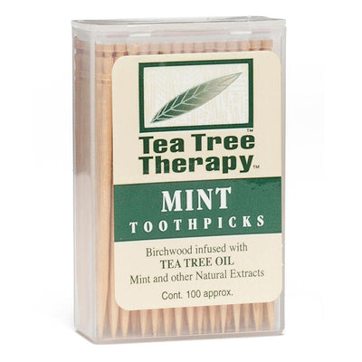 Tea Tree Therapy Toothpicks Specialty Health Products Tea Tree Therapy Tea Tree  (1644090818603)