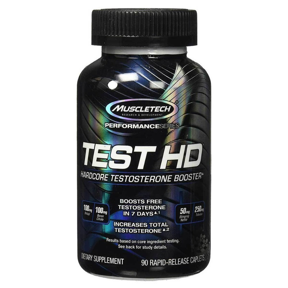 MuscleTech Test HD 90 Caplets Testosterone Boosters MuscleTech  (1059008217131)