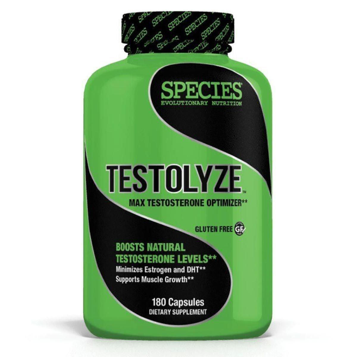 Species Nutrition Testolyze 180 Caps Testosterone Boosters Species Nutrition  (1059025911851)