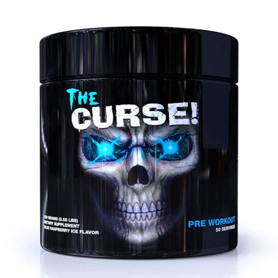 Cobra Labs The Curse 50 Servings Cobra Labs Blue Raspberry Ice  (1059072933931)