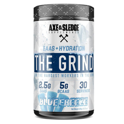 Axe & Sledge The Grind EAAs + Hydration | Branched Chain Amino Acids BCAAs Amino Acids AXE & SLEDGE BLUE FREEZE  (1812332511275)