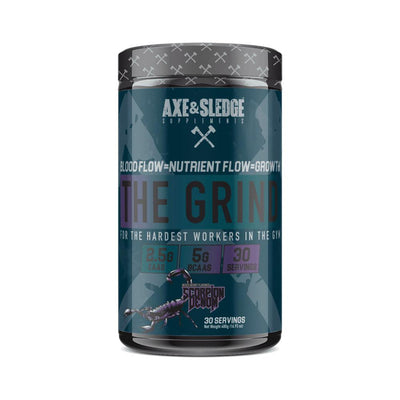 Axe & Sledge The Grind EAAs + Hydration | Branched Chain Amino Acids BCAAs Amino Acids AXE & SLEDGE Scorpion Venom  (1812332511275)