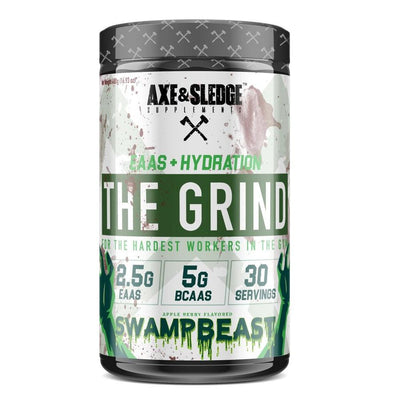 Axe & Sledge The Grind EAAs + Hydration | Branched Chain Amino Acids BCAAs Amino Acids AXE & SLEDGE SWAMP BEAST  (1812332511275)