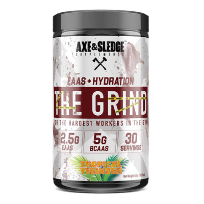 Axe & Sledge The Grind EAAs + Hydration | Branched Chain Amino Acids BCAAs Amino Acids AXE & SLEDGE TROPICAL THUNDER  (1812332511275)