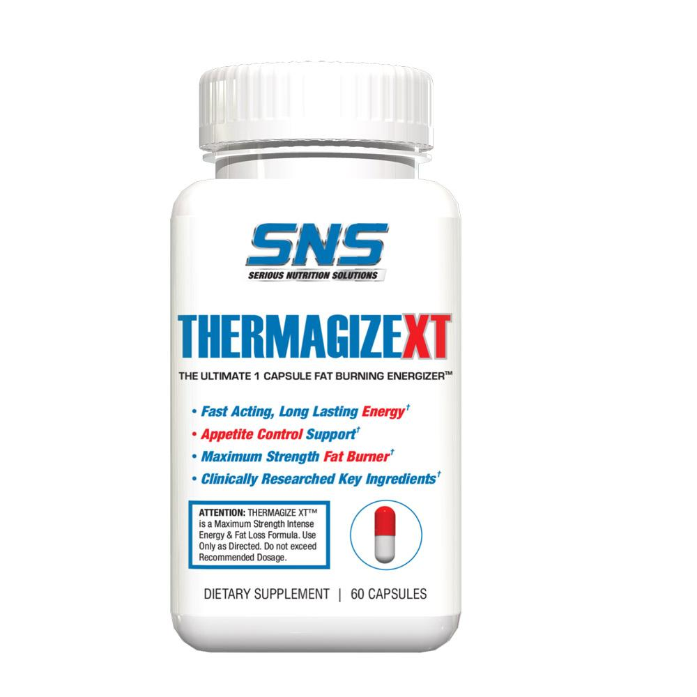 Serious Nutrition Solutions (SNS) Thermagize XT 60 Caps Fat Burner Serious Nutrition Solutions  (1860161830955)