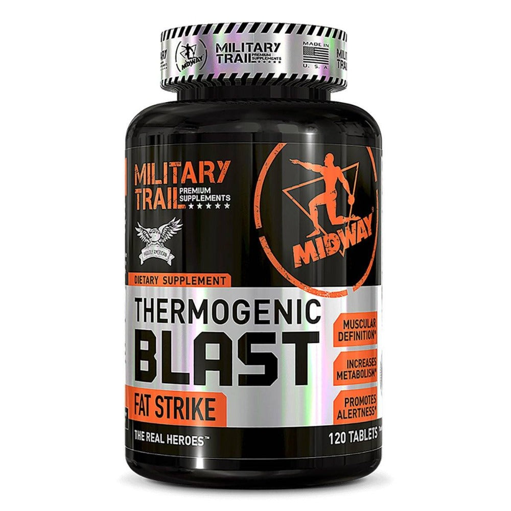 MILITARY TRAIL THERMOGENIC BLAST 120 TABS Fat Burner Military Trail  (1205110341675)
