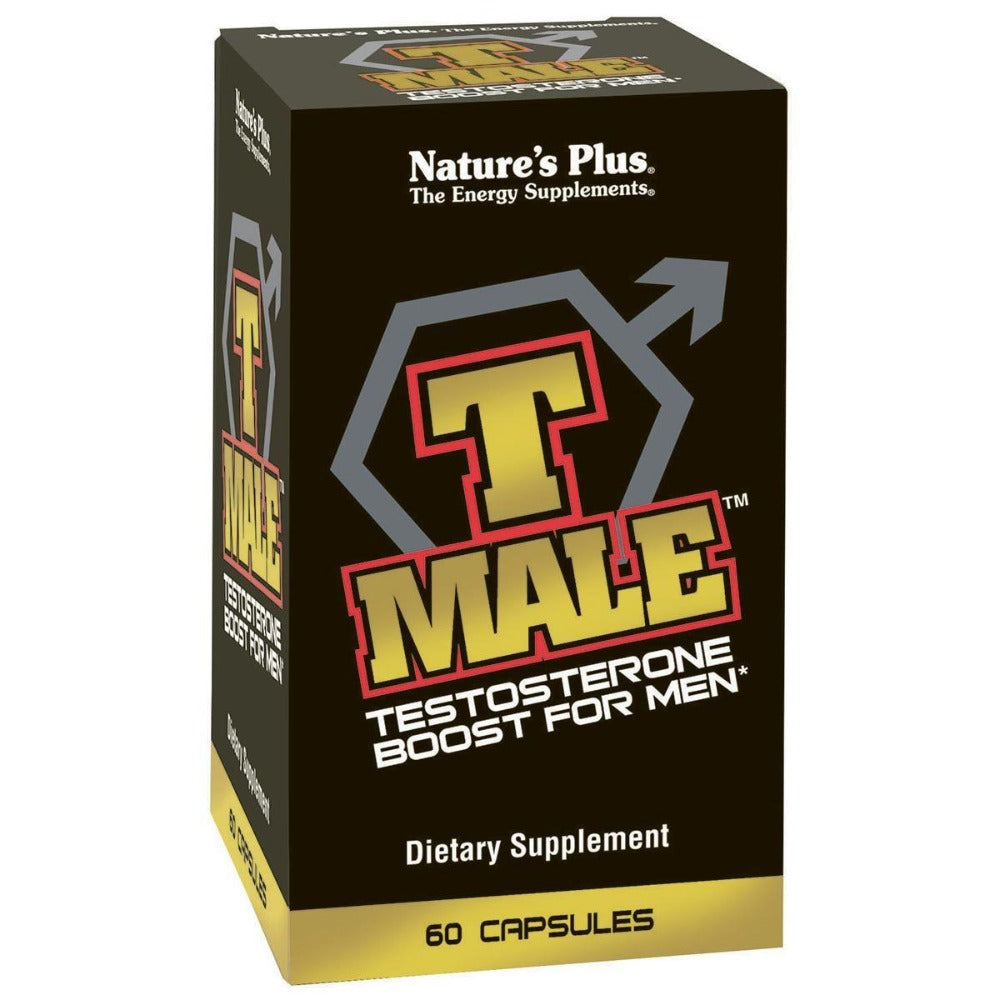 Nature's Plus T-Male 60 Caps Testosterone Boosters Nature's Plus  (1058710880299)
