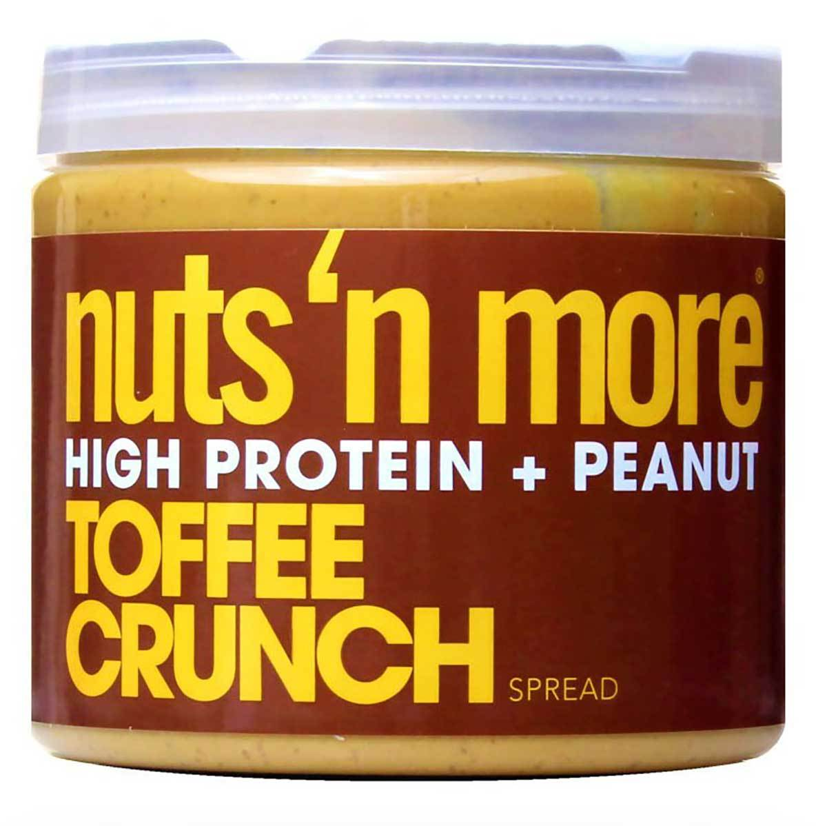 Nuts 'N More Toffee Crunch Peanut Butter 16 Oz Foods & Snacks Nuts 'N More  (1059074048043)