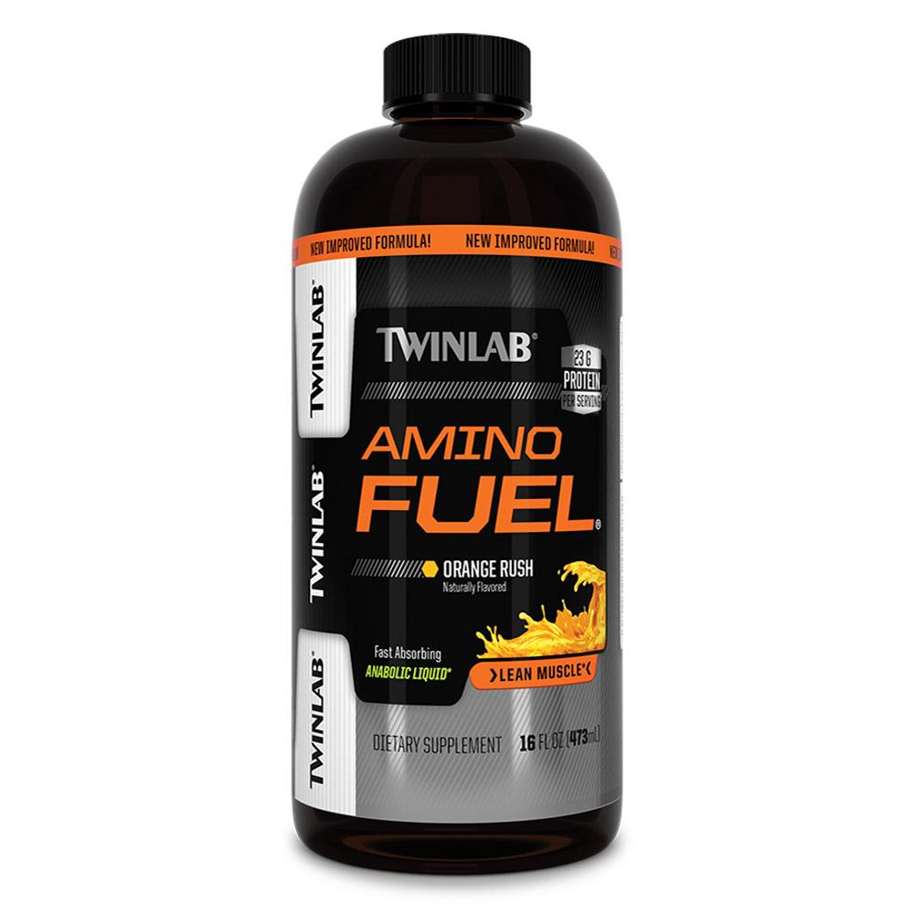 TwinLab Amino Fuel Liquid Concentrate 16oz Fat Burner Twinlab  (1759747375147)