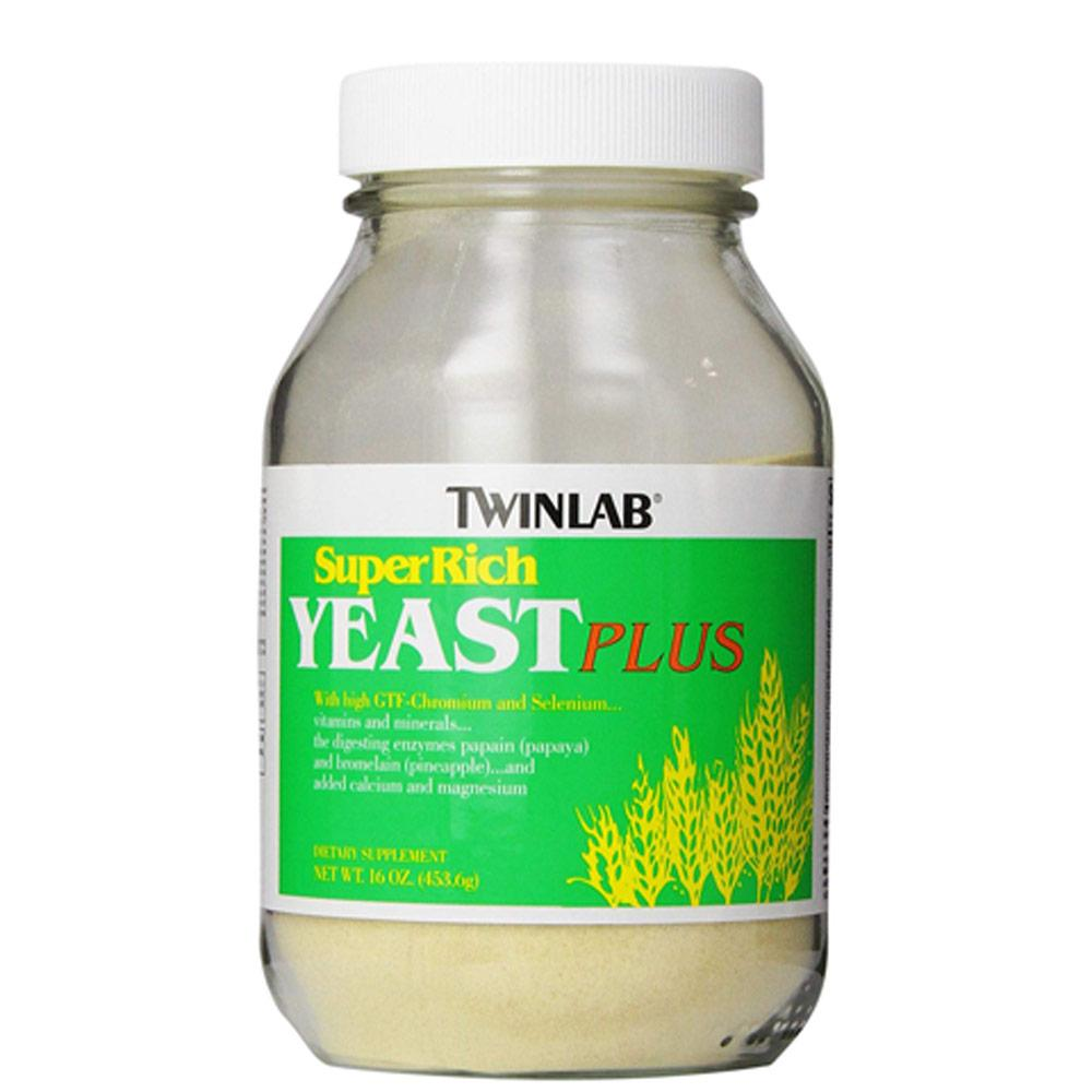Twin Lab Super Rich Yeast Plus 16oz Specialty Health Products Twinlab  (1722651050027)