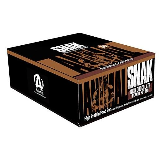 PROMO Animal Snak 12/Box Rich Chocolate Peanut Butter Bars Universal  (1644716326955)
