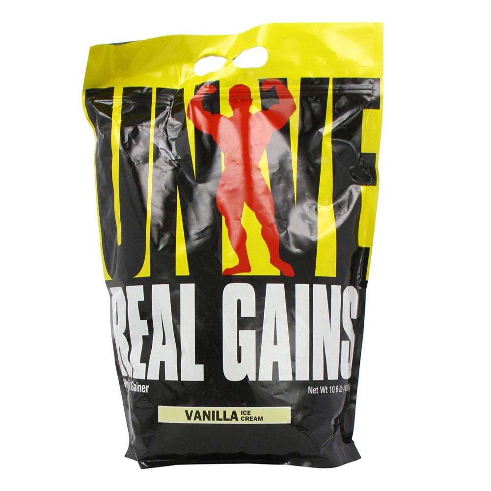 Universal Nutrition Real Gains 10.6lbs Special Orders Universal Vanilla Ice Cream  (1589126660139)
