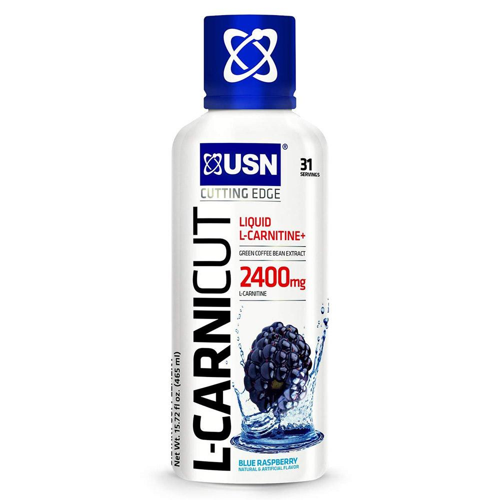 USN L-CARNICUT 31 SV Fat Burner USN BLUE RASPBERRY  (1565492379691)