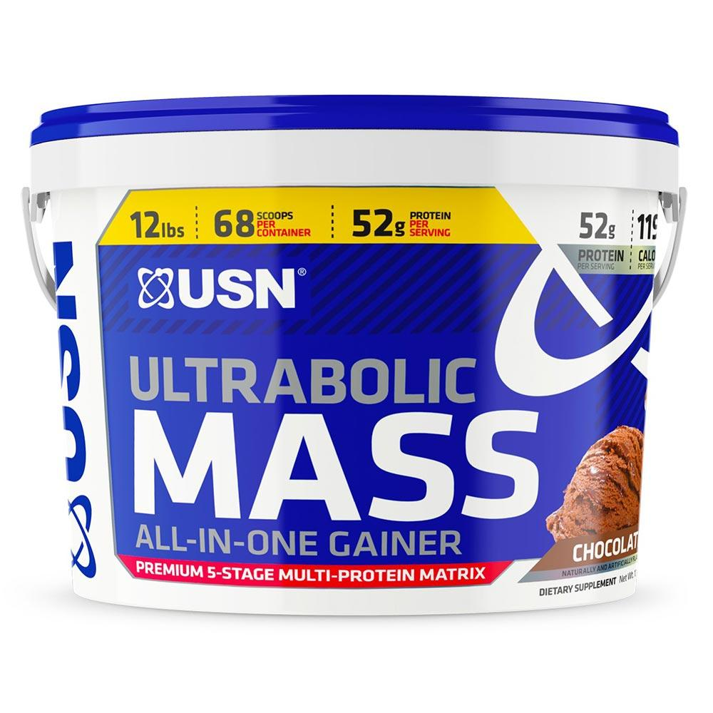 USN ULTRABOLIC MASS 12LBS Protein Powders USN CHOCOLATE  (1565492838443)