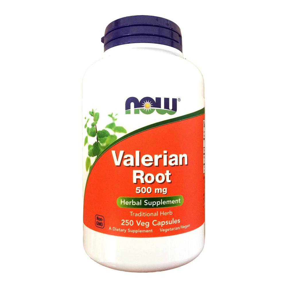 Now Foods Valerian Root 500 Mg 250 Capsules Herbs Now Foods  (1059115827243)