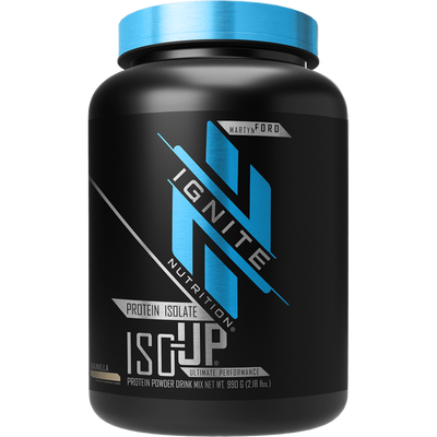 Ignite Iso-Up 2lb Protein Powders Ignite Vanilla  (4405707997249)