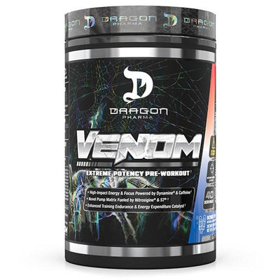 Dragon Pharma Venom 40/Sv Pre-Workouts Dragon Pharma Bomb Pop  (4495480094785)