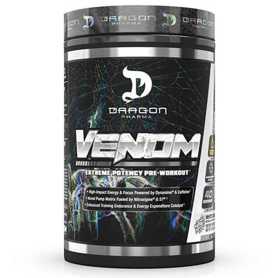 Dragon Pharma Venom 40/Sv Pre-Workouts Dragon Pharma White Dragon  (4495480094785)