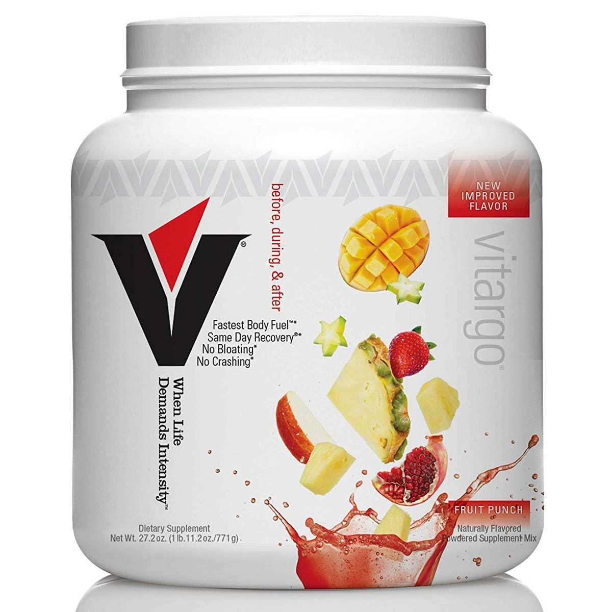 Vitargo 20 Servings Sports Performance Recovery Vitargo Fruit Punch  (1546999988267)