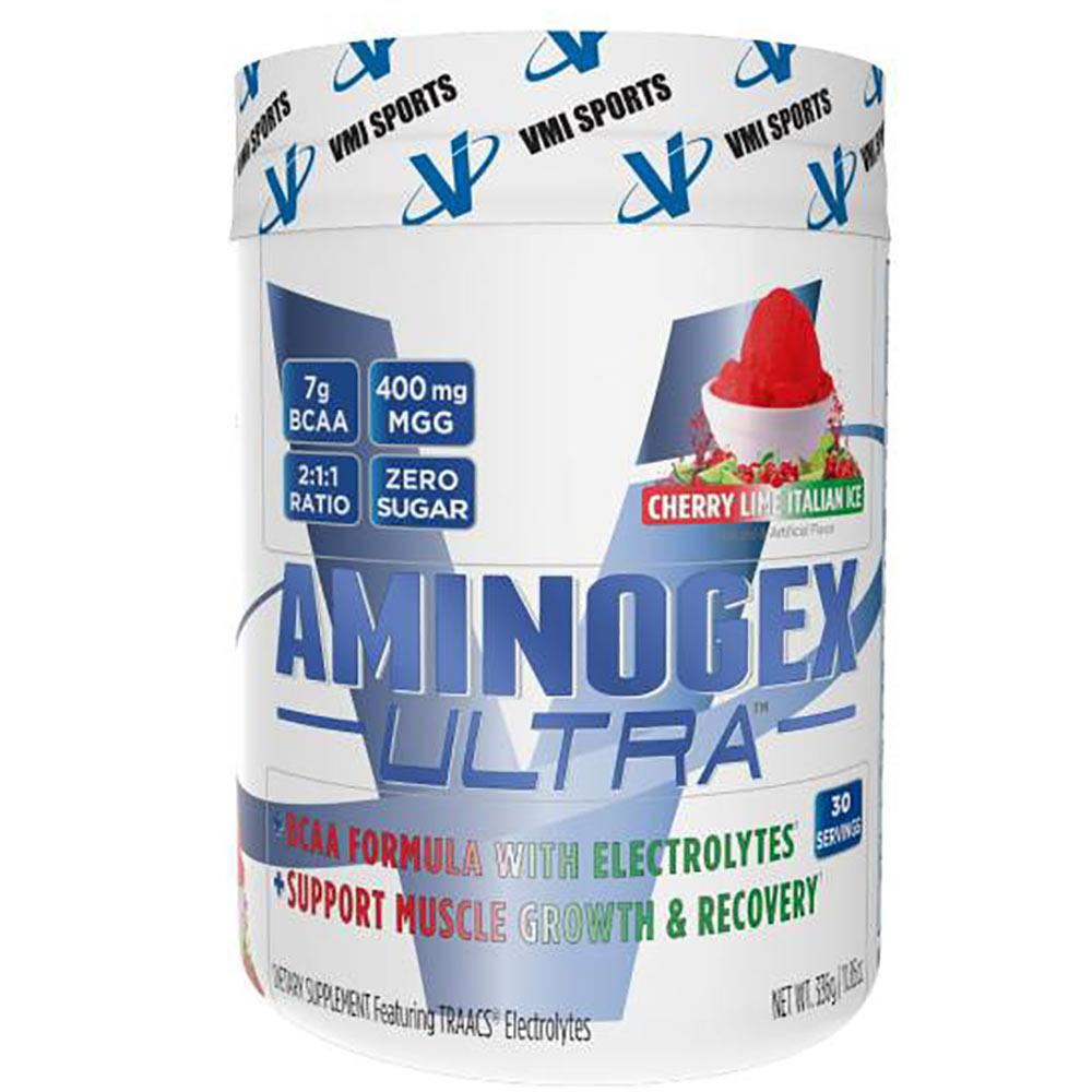 VMI Aminogex Ultra 30SV Amino Acids VMI Sports Cherry Lime Italian Ice  (1565080354859)