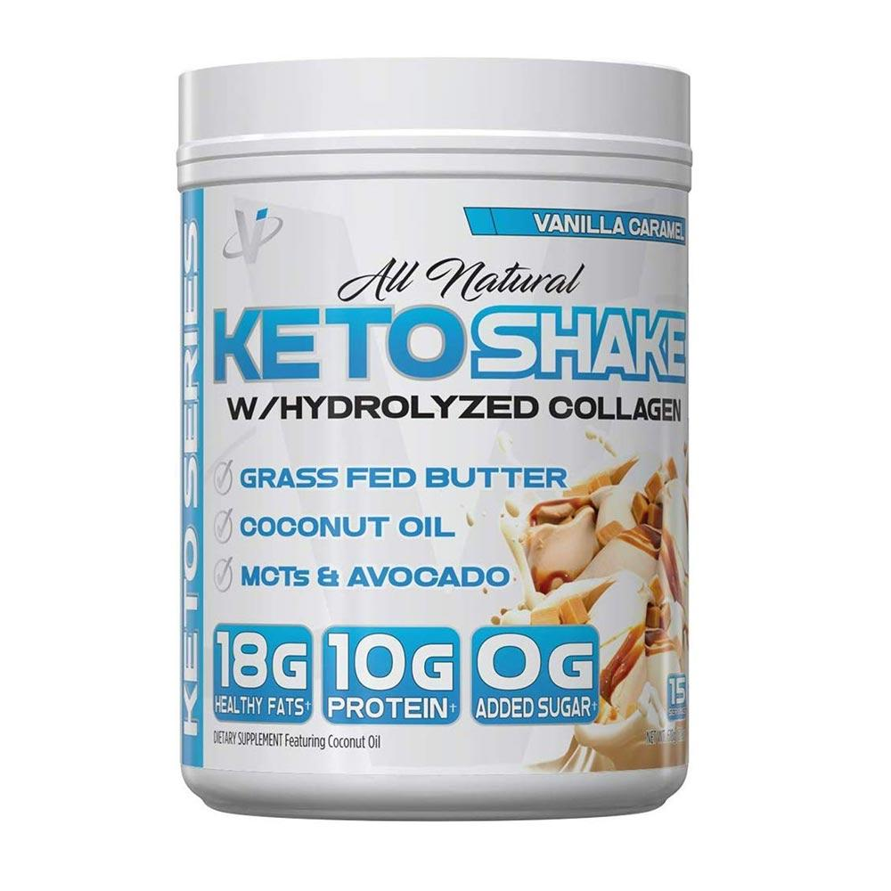 VMI Keto Shake 15/Servings Protein Powders VMI Sports Vanilla Caramel  (4362306814017)