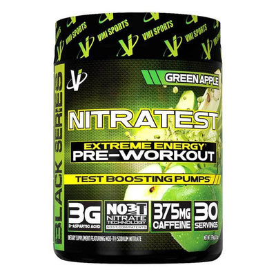 VMI Sports Nitratest 30 Servings Pre-Workouts VMI Sports Green Apple  (4362722738241)