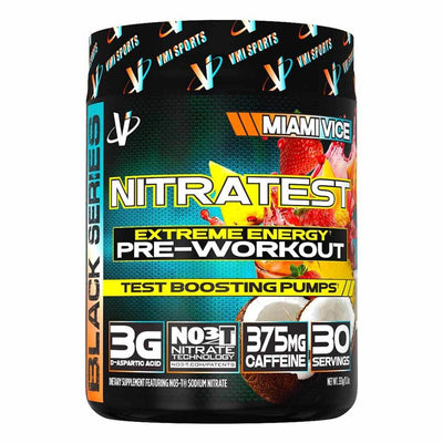 VMI Sports Nitratest 30 Servings Pre-Workouts VMI Sports Miami Vice  (4362722738241)