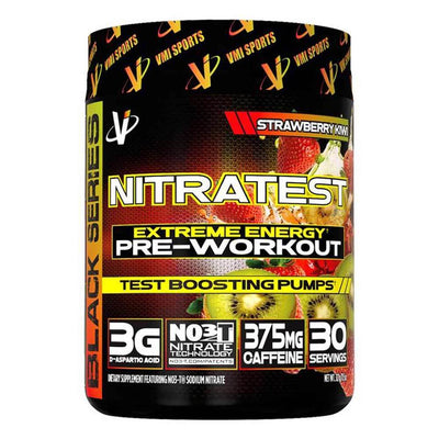 VMI Sports Nitratest 30 Servings Pre-Workouts VMI Sports Strawberry Kiwi  (4362722738241)