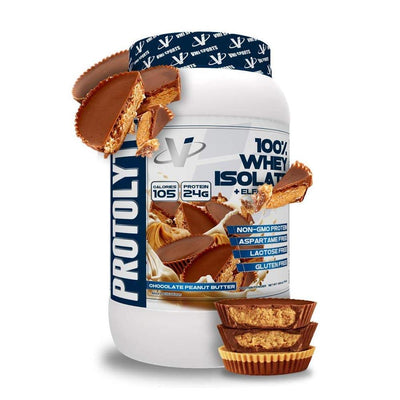 VMI Protolyte 100% Whey Isolate Protein 25 Servings Protein Powders VMI Sports Chocolate Peanut Butter  (4362729259073)