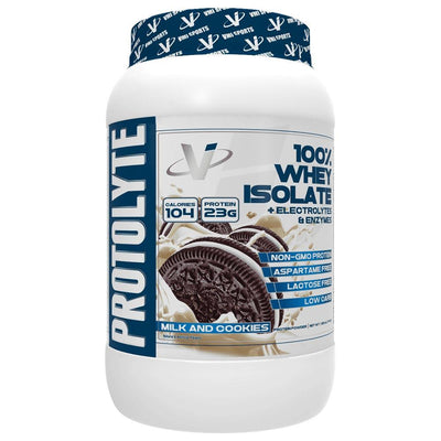 VMI Protolyte 100% Whey Isolate Protein 25 Servings Protein Powders VMI Sports Milk and Cookies  (4362729259073)