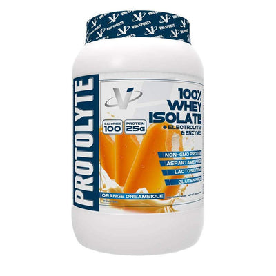 VMI Protolyte 100% Whey Isolate Protein 25 Servings Protein Powders VMI Sports Orange Dreamsicle  (4362729259073)