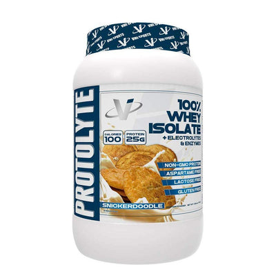 VMI Protolyte 100% Whey Isolate Protein 25 Servings Protein Powders VMI Sports Snickerdoodle  (4362729259073)