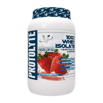 VMI Protolyte 100% Whey Isolate Protein 25 Servings Protein Powders VMI Sports Strawberry  (4362729259073)