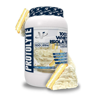 VMI Protolyte 100% Whey Isolate Protein 25 Servings Protein Powders VMI Sports Vanilla Cake Batter  (4362729259073)