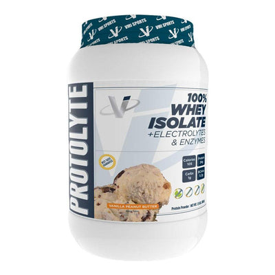 VMI Protolyte 100% Whey Isolate Protein 25 Servings Protein Powders VMI Sports Vanilla Peanut Butter  (4362729259073)