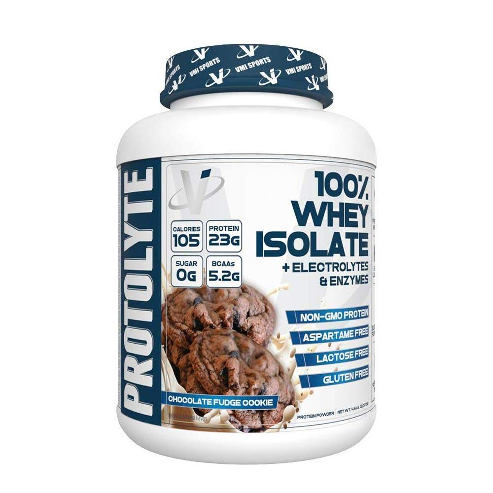 VMI Protolyte 100% Whey Protein Isolate 70 Servings Protein Powders VMI Sports Chocolate Fudge Cookie  (4362729521217)