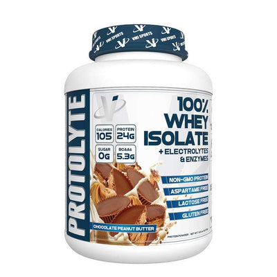 VMI Protolyte 100% Whey Protein Isolate 70 Servings Protein Powders VMI Sports Chocolate Peanut Butter  (4362729521217)