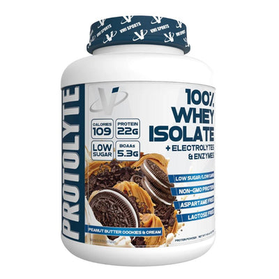 VMI Protolyte 100% Whey Protein Isolate 70 Servings Protein Powders VMI Sports Peanut Butter Cookies and Cream  (4362729521217)