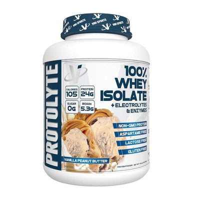 VMI Protolyte 100% Whey Protein Isolate 70 Servings Protein Powders VMI Sports Vanilla Peanut Butter  (4362729521217)